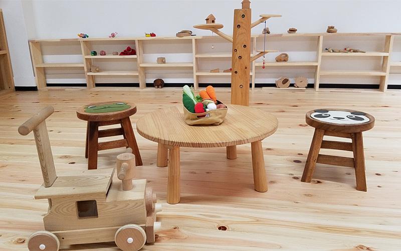 木育おもちゃ&フリースペース Tree branch
